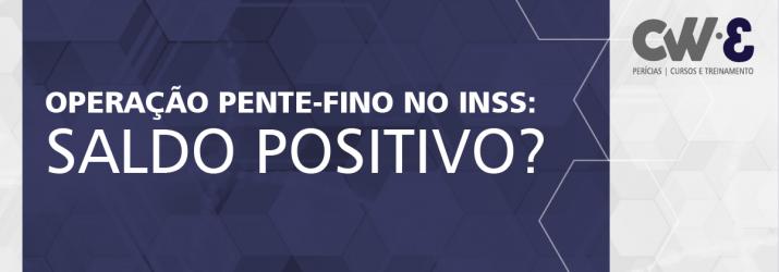 OPERAÇÃO PENTE-FINO NO INSS